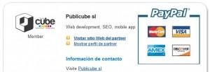 PubliCUBE partner de PayPal