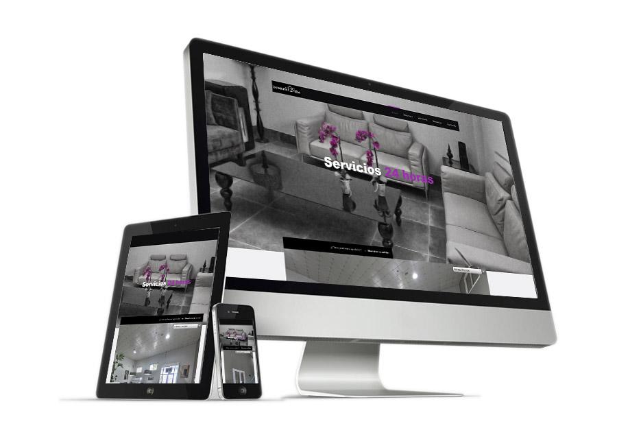 Diseño Web Funeraria Villa Publicubepublicube